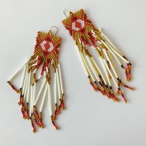 Jacquie Aiche Quill Earrings